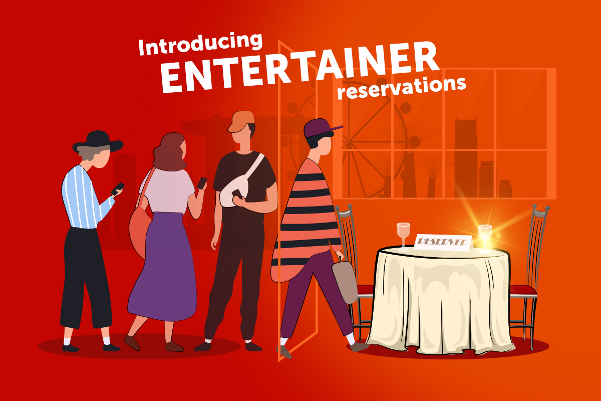 How To Make A Table Reservation With The ENTERTAINER